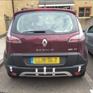 Renault scenic rear parking sensors London