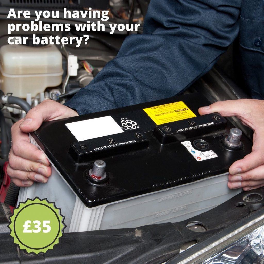 Mobile Car Battery Replacement Sutton
