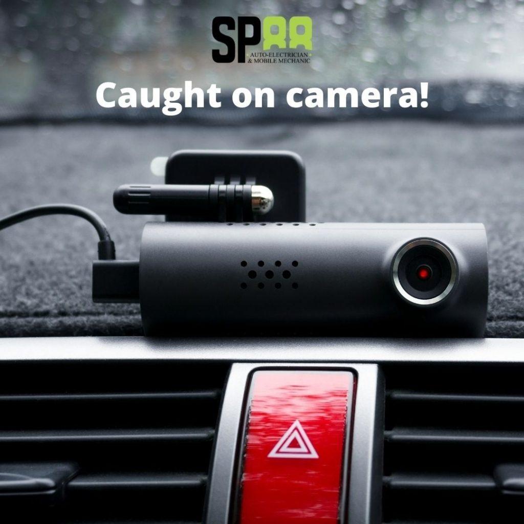 Dash camera installation